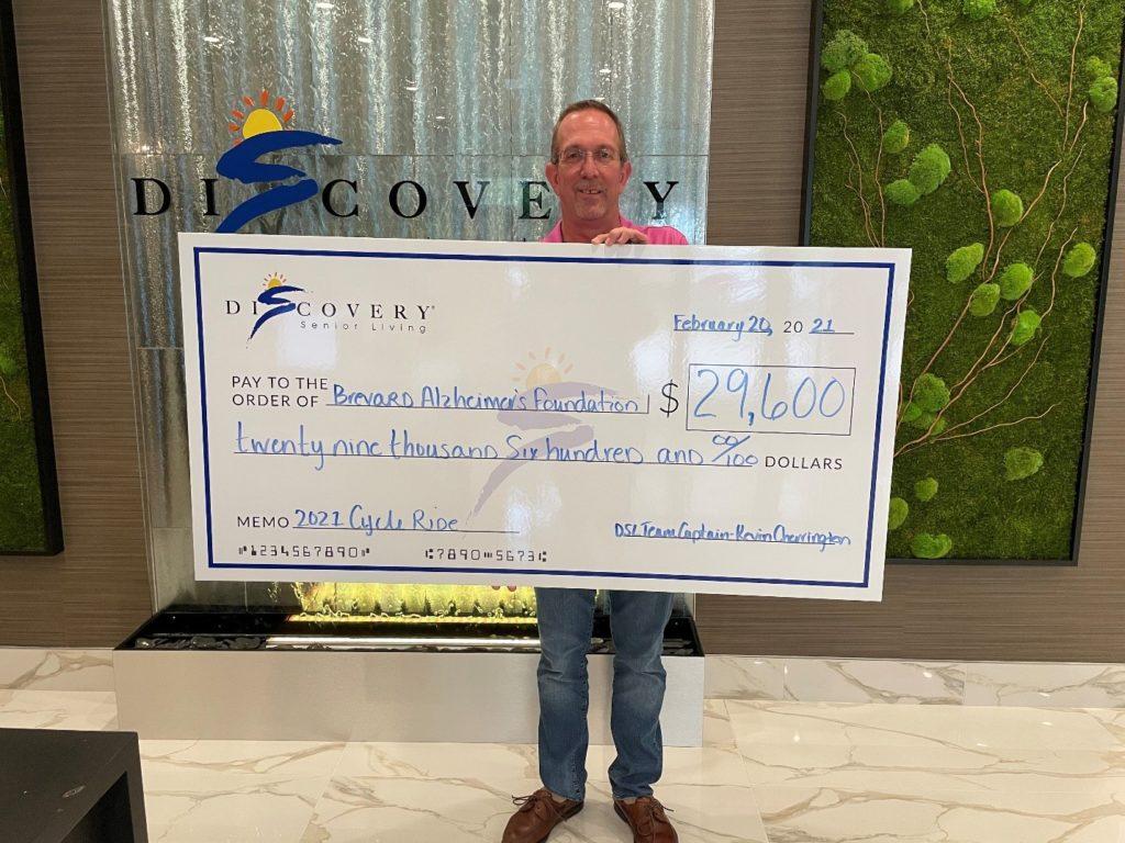 Discovery Senior Living Donates Nearly $30,000 to Brevard Alzheimer's Foundation